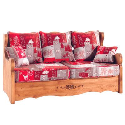 Canapé Alaska Nopial rouge